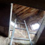 Leiter zum Turm