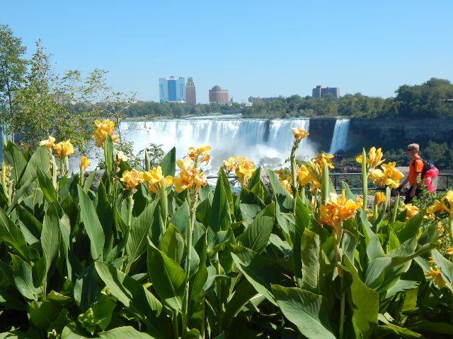 die amerikanische Seite der Niagarafälle