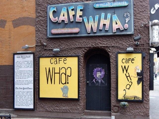 Café Wha Greenwich Village
