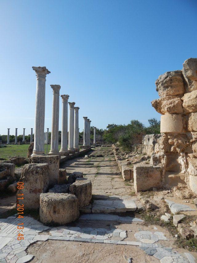 Die Säulen von Salamis
