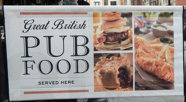 London Pub Food