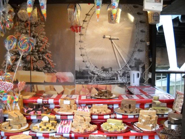 London Weihnachtsmarkt Fudge