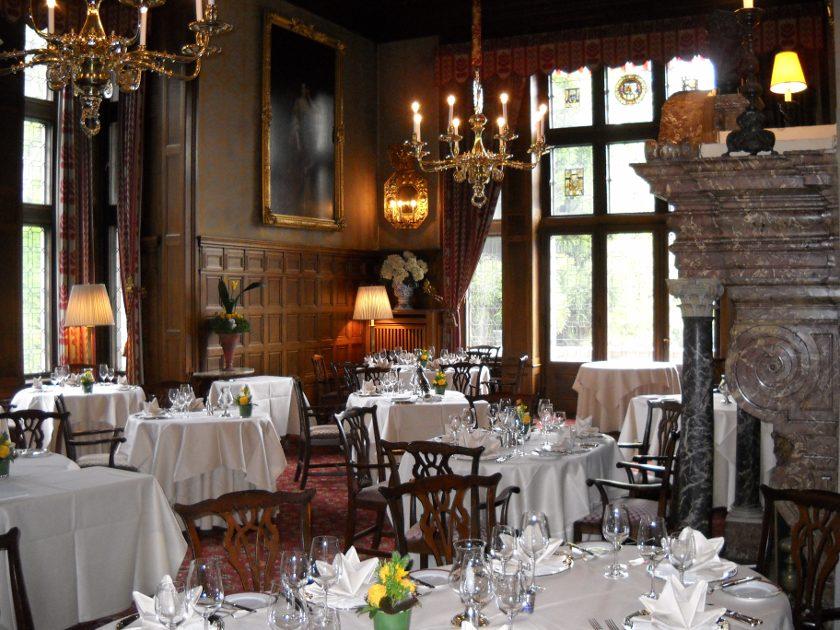 Fettnäpfchen im Schlossrestaurant