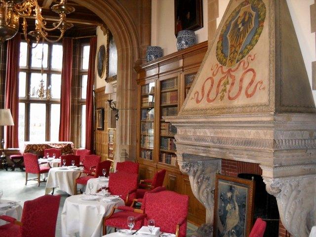 Bibliothek im Schlosshotel Kronberg