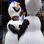 Schneemann aus Eiskönigin