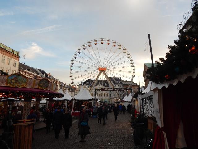 Kopenhagen Weihnachtsmarkt Riesenrad