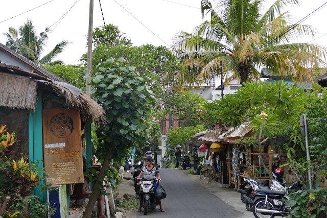 Straße in Ubud Bali