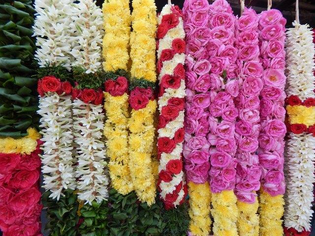 Blumen für den Tempel, Indien