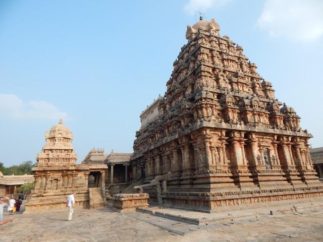 Airavatesvara Tempel Darasuram Indien Tamil Nadu