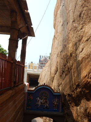 Ganesha Tempel in Trichy Rock Fort
