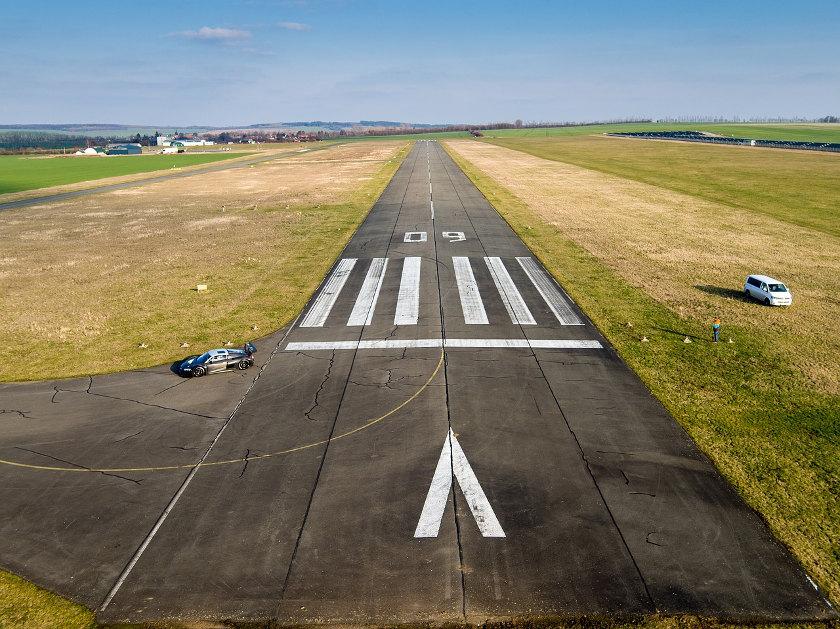 Fliegen Landebahn Landung