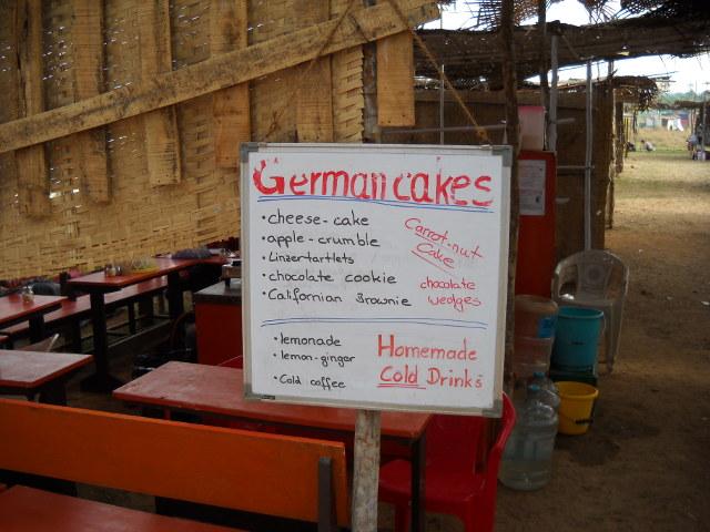 Deutsche Bäckerei in Goa