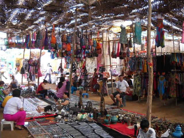 Hippieparadies Goa Anjuna