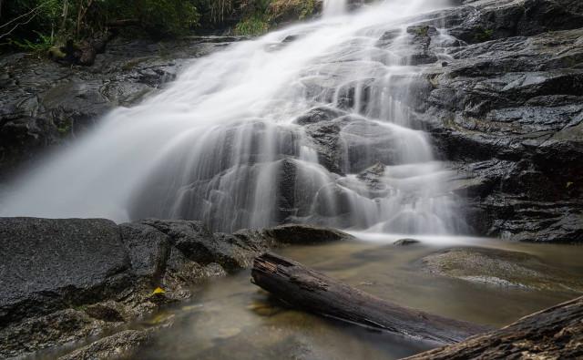 Wasserfälle in Thailand.