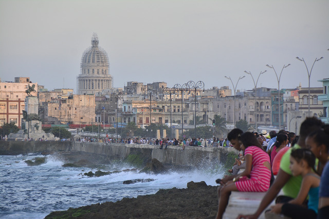 Der Malecon in Havanna, Kuba