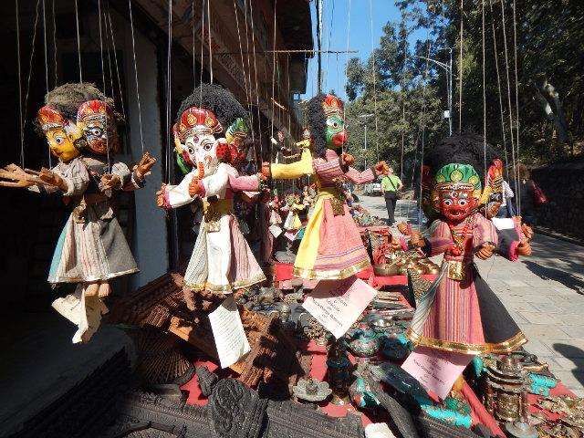 Souvenirstand vor Pashupatinath