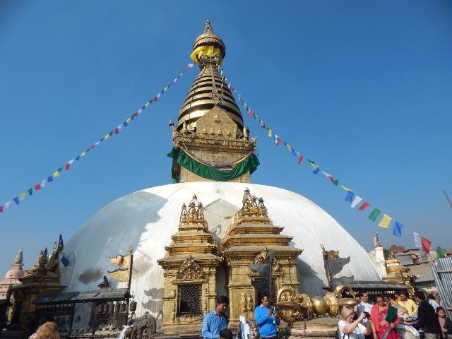 Affentempel in Kathmandu, Swayambunath.