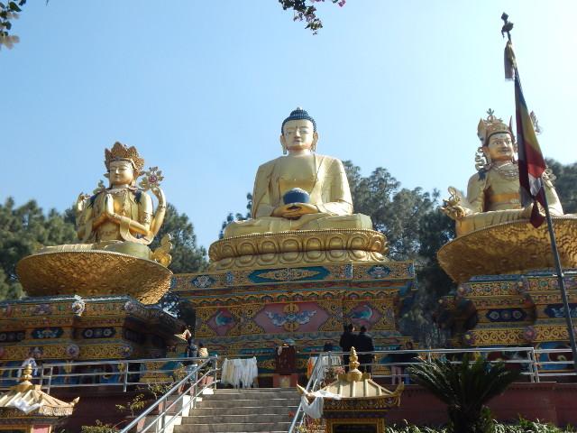 Amideva Buddha Park in Kathmand