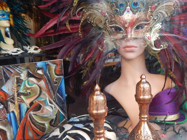 Kunstvolle Karnevalsmasken
