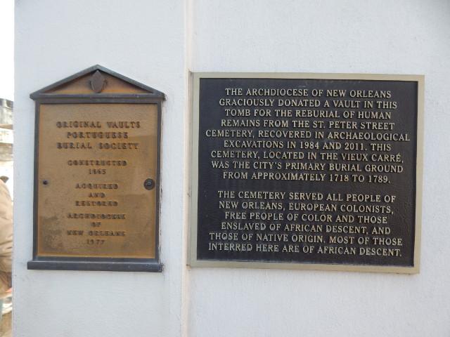 Umbettung der Gräber von der St. Peter Street.