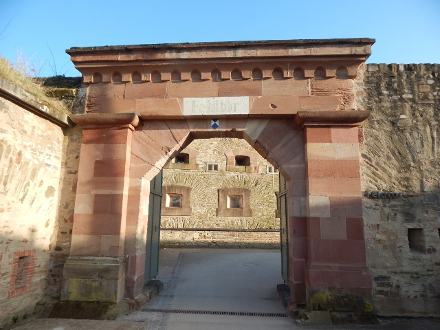 Eingang zur Festung Ehrenbreitstein
