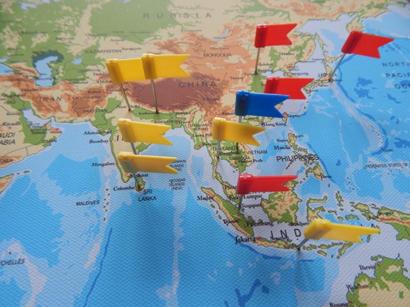 Die Weltkarte Als Pinnwand Ein Ideales Geschenk Fur Weltreisende