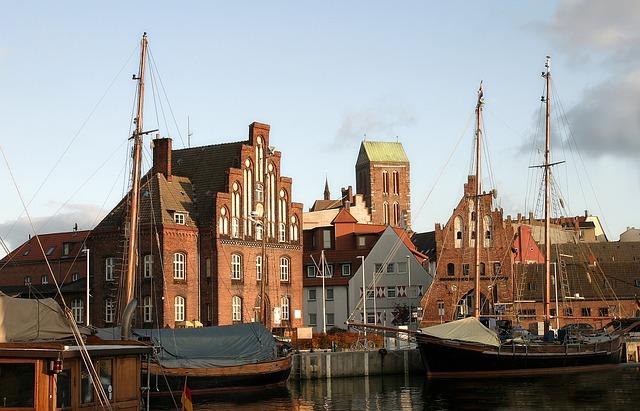 Der Hafen in Wismar