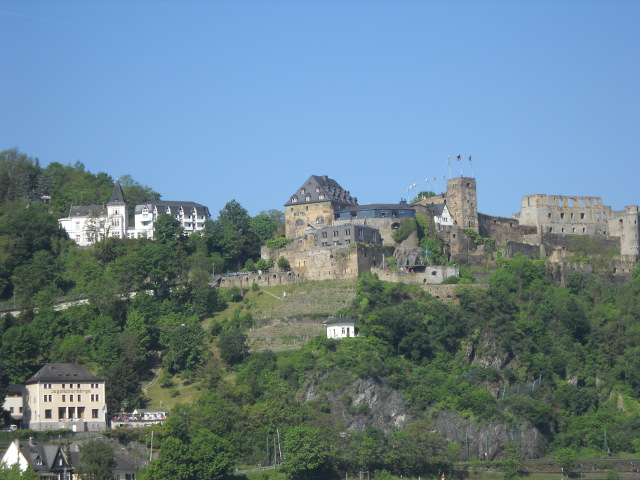 Burg Rheinfels über St Goar
