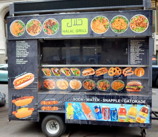 Food Truck in New York, hier kannst du günstig essen.