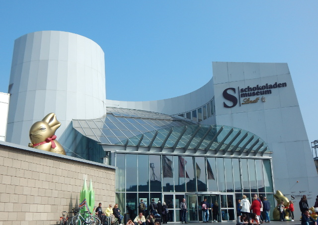Für Schokofans ist das Schokoladenmuseum ein Tipp! Ein Tag in Köln.