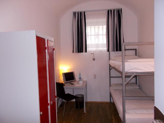 Doppelzelle im Gefängnishotel Kaiserslautern