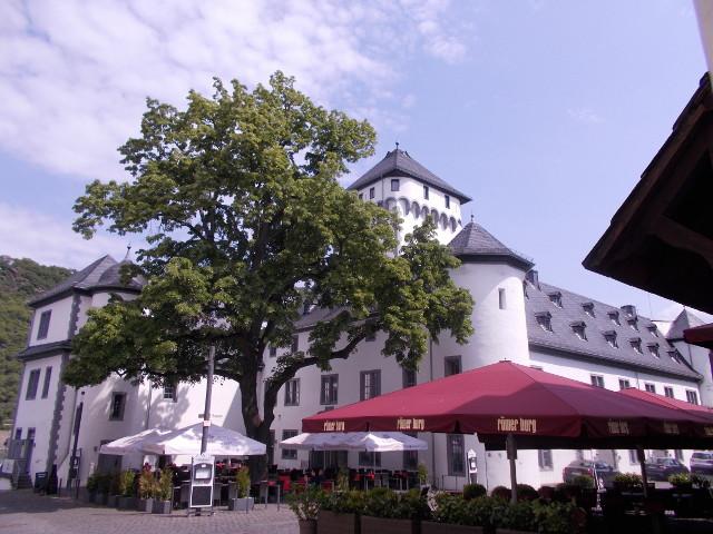 Die Kurfürstliche Burg in Boppard.