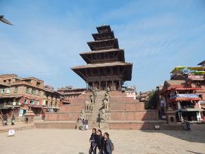 Nyatapola-Tempel in Bhaktapur, Nepal