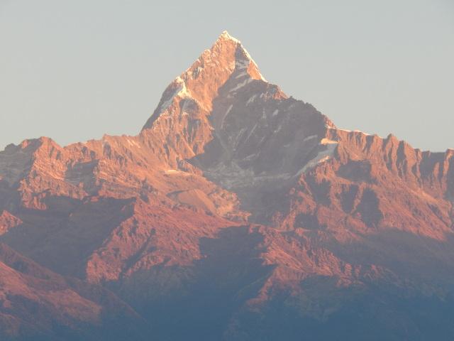 Sonnenaufgang über dem Himalaya