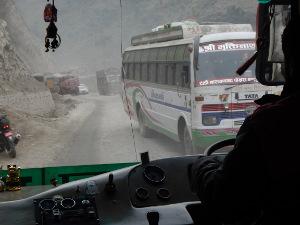 Straße zwischen Kathmandu und Chitwan