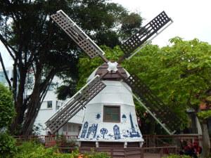 holländische Windmühle in Malakka