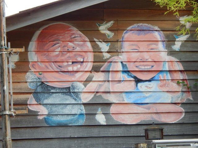Street Art Penang The Clan Jetties