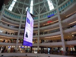 Das Suria KLCC Einkaufscenter in Kuala Lumpur.