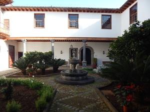 Der Innenhof des Casa Salazar
