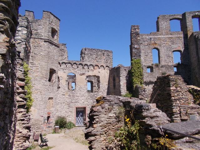 Das Innere von Burg Rheinfels