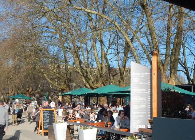 Königsbacher Biergarten in Koblenz