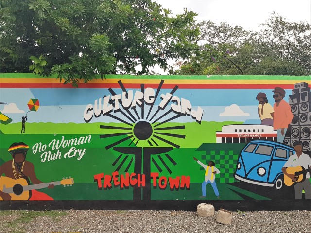 Trenchtown Culture Yard Graffiti in Kingston