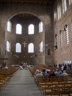 Die Konstantin Basilika in Trier, Sehenswürdigkeiten in Trier