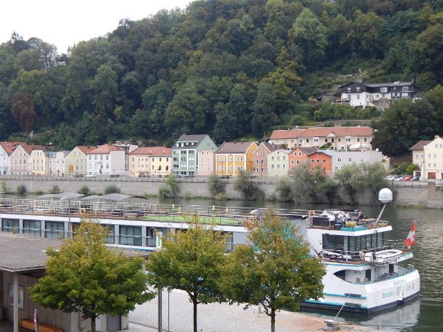 Anlegestelle Kreuzfahrt in Passau