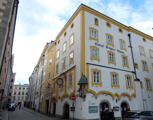 Wilder Mann Passau mit dem Glasmuseum