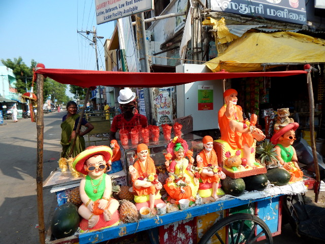 Stand in Madurai