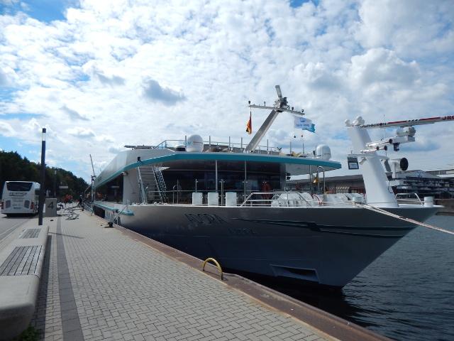 MS Adora im Hafen Nuernberg