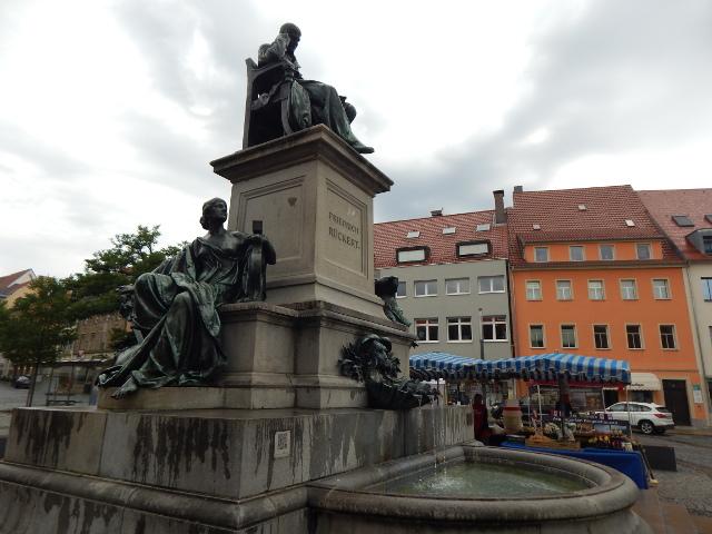 Rückert-Denkmal in Schweinfurt Sehenswürdigkeiten