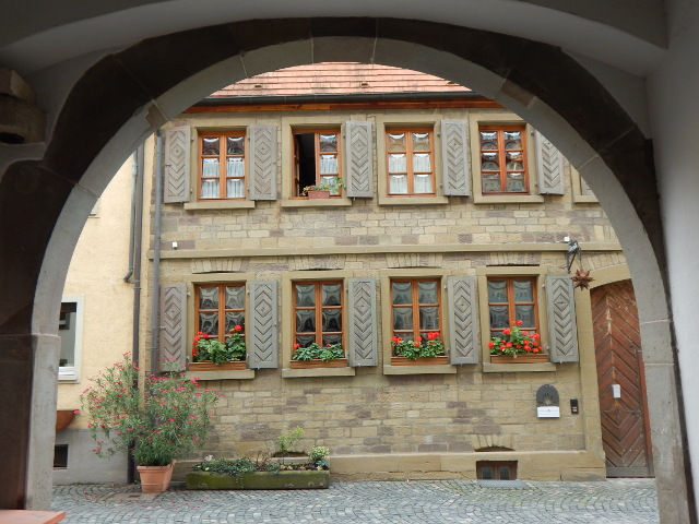 Torbogen in der Altstadt von Schweinfurt