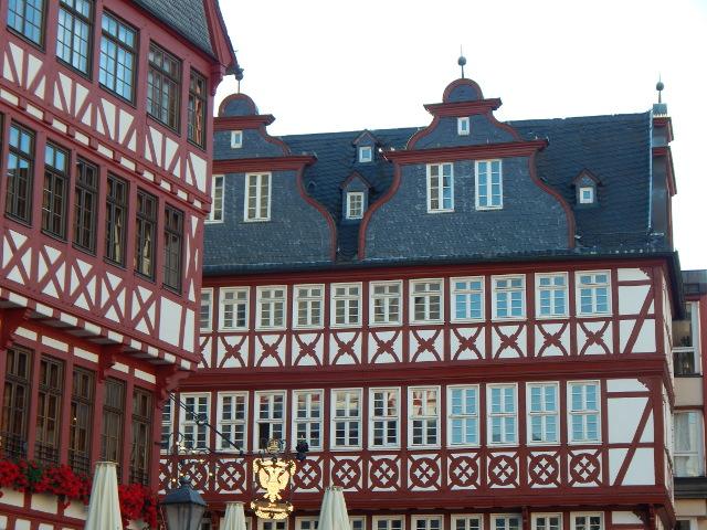 Die Fachwerkhäuser am Römerberg Frankfurt